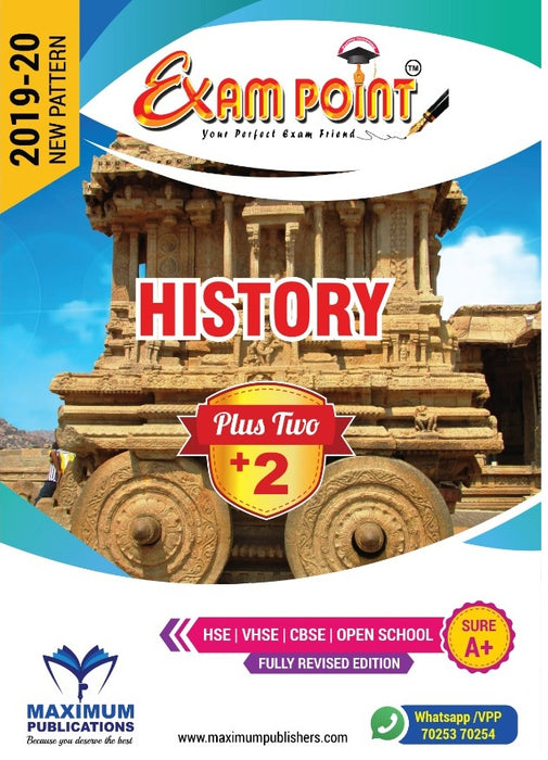 Plus Two History Kerala Syllabus ( HSE , VHSE ,OPEN SCHOOL )