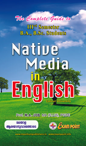 Guide to Third Semester Native Media In English For Calicut University BA/B.Sc Students