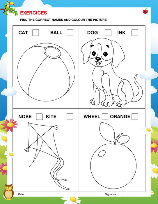 Copy of Writing And Colouring Book For Kids A to Z Capital Letters