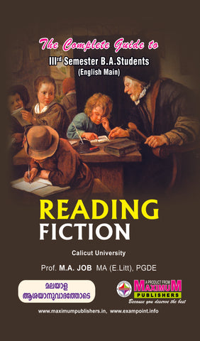 Guide to Third Semester Reading Fiction (English Main ) For Calicut university BA Students