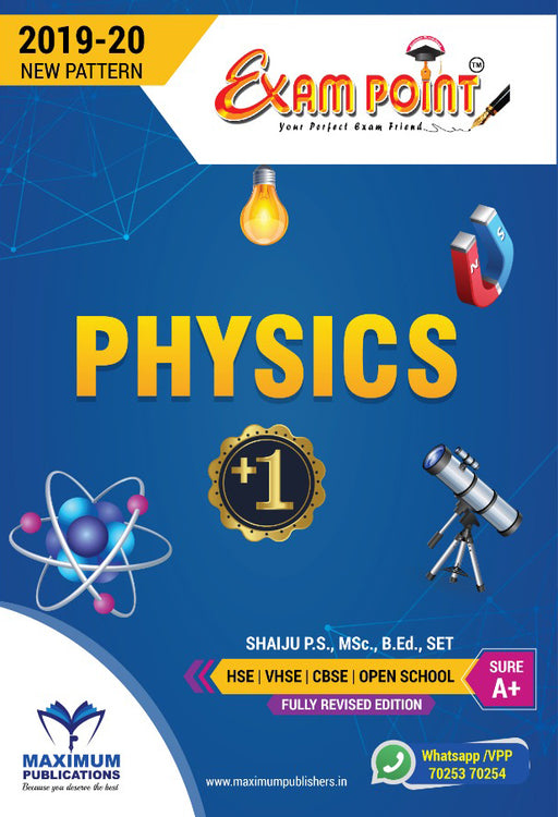 Plus One Physics Kerala Syllabus ( HSE , VHSE ,OPEN SCHOOL )
