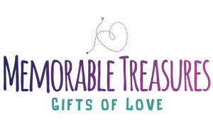 Memorable Treasures gifts of love logo