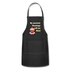 Load image into Gallery viewer, Adjustable Apron My Sweetest Blessings Call Me Mimi Adjustable Apron - Memorable Treasures