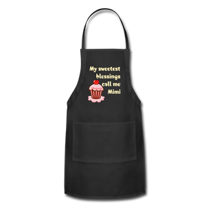 Adjustable Apron My Sweetest Blessings Call Me Mimi Adjustable Apron - Memorable Treasures