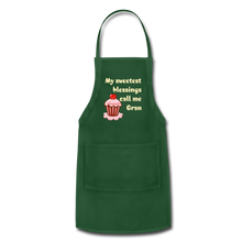 Load image into Gallery viewer, Adjustable Apron My Sweetest Blessings Call Me Gran Adjustable Apron - Memorable Treasures