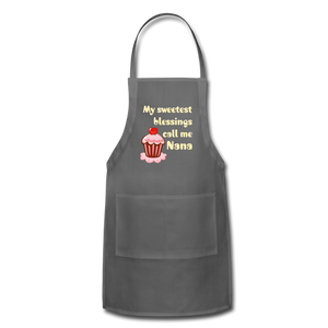 Adjustable Apron My Sweetest Blessings Call Me Nana Adjustable Apron - Memorable Treasures