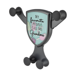 Gravitis Car Charger My Favorite People Call Me Grandma - Cell Phone Car Mount and Wireless Charger - Memorable Treasures