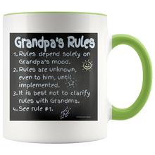 Load image into Gallery viewer, Drinkware Grandpa's Rules - Mug - Memorable Treasures