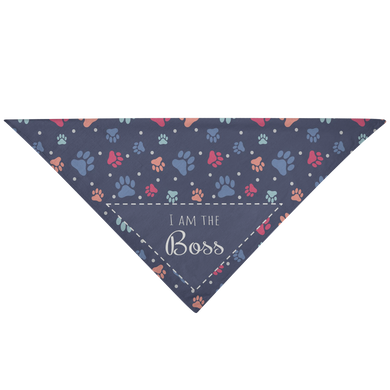 I Am The Boss - Pet Bandana - Memorable Treasures Gift of Love for Family and Friends