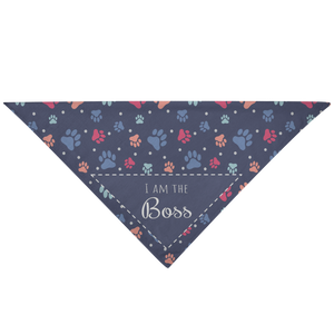 Pet Bandana I Am The Boss - Pet Bandana - Memorable Treasures