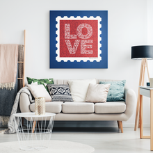 Load image into Gallery viewer, Canvas Wall Art 2 Love Stamp Gallery Canvas Print - Memorable Treasures