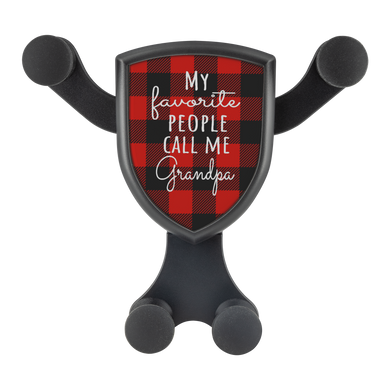My Favorite People Call Me Grandpa - Cell Phone Car Mount and Wireless Charger - Memorable Treasures Gift of Love for Family and Friends