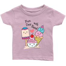 Load image into Gallery viewer, T-shirt Fun Day With Nana! - Tee-Shirt For Infants - Memorable Treasures