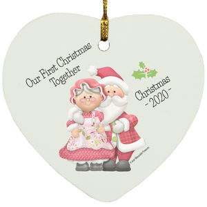 Baby's First Christmas With Grandma and Grandpa - Ornament - Memorable Treasures Gift of Love for Family and Friends
