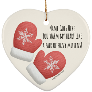 ornament Personalized 'You Warm My Heart' Ornament - Memorable Treasures