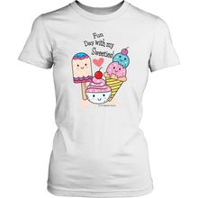 Load image into Gallery viewer, T-shirt Fun Day With My Sweeties! - Tee-Shirt - Memorable Treasures