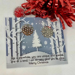 Jewelry Snowflake Earrings - Memorable Treasures