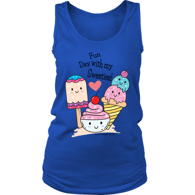 T-shirt Fun Day With My Sweeties! - Tank Top - Memorable Treasures