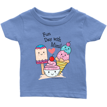 Load image into Gallery viewer, T-shirt Fun Day With Mimi! - Tee-Shirt For Infants - Memorable Treasures