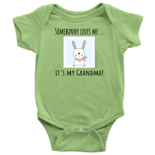 Load image into Gallery viewer, T-shirt Grandma Loves Me - Baby One Piece Shirt - Memorable Treasures