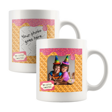 Load image into Gallery viewer, Drinkware Template My Little Sweeties - Picture This! Mug - Memorable Treasures