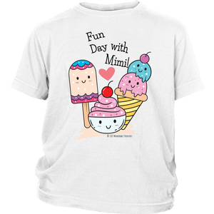 T-shirt Fun Day With Mimi! - Tee-Shirt For Youth - Memorable Treasures