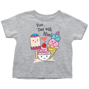 T-shirt Fun Day With Mimi! - Tee-Shirt For Toddlers - Memorable Treasures