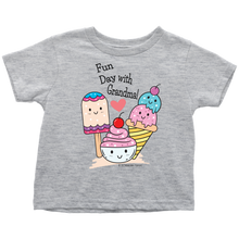 Load image into Gallery viewer, T-shirt Fun Day With Grandma! - Tee-Shirt For Toddlers - Memorable Treasures