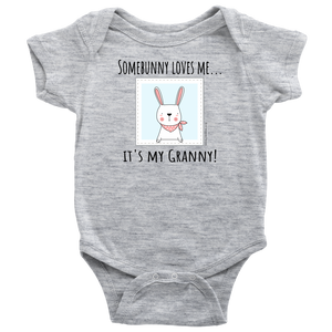 T-shirt Granny Loves Me - Baby One Piece Shirt - Memorable Treasures