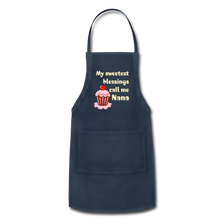 Load image into Gallery viewer, Adjustable Apron My Sweetest Blessings Call Me Nana Adjustable Apron - Memorable Treasures