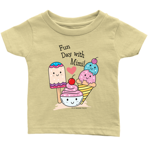 T-shirt Fun Day With Mimi! - Tee-Shirt For Infants - Memorable Treasures