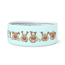 Load image into Gallery viewer, Puppy Love Personalized Dog Bowl - Memorable Treasures Gift of Love for Family and Friends