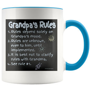 Drinkware Grandpa's Rules - Mug - Memorable Treasures