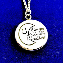 Load image into Gallery viewer, Necklace I Love You To The Moon and Back - Necklace - Memorable Treasures