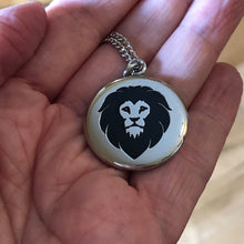 Load image into Gallery viewer, Necklace Grandson Never Forget That I Love You - Reversible Lion Pendant Gift - Memorable Treasures