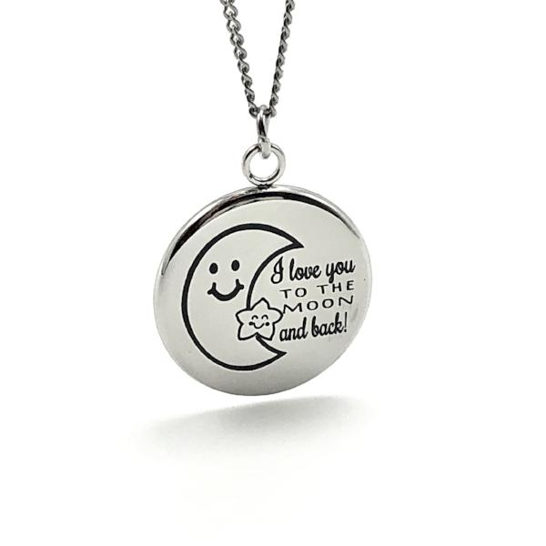 Necklace I Love You To The Moon and Back - Necklace - Memorable Treasures