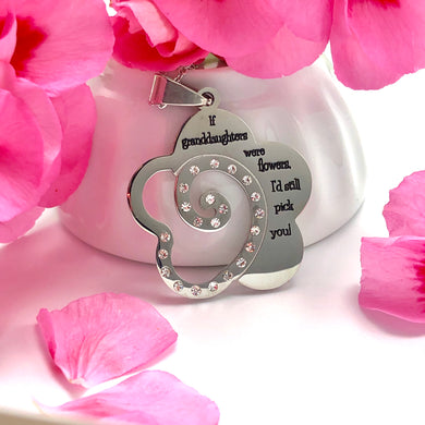 Necklace If Granddaughters Were Flowers, I'd Still Pick You! - Necklace - Memorable Treasures