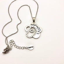 Load image into Gallery viewer, Necklace If Granddaughters Were Flowers, I'd Still Pick You! - Necklace - Memorable Treasures