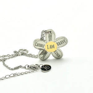 Flower Power - Necklace - Memorable Treasures Gift of Love for Family and Friends