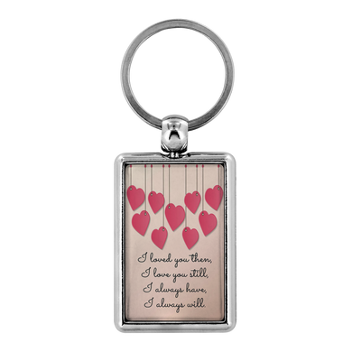 Keychain I Will Always Love You - Key Chain - Memorable Treasures