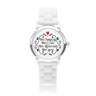 Be Happy, Be True, Be Special, Be You - Child's Watch