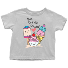 Load image into Gallery viewer, Fun Day With Grandma! - Tee-Shirt For Toddlers - Memorable Treasures Gift of Love for Family and Friends