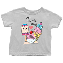 Load image into Gallery viewer, Fun Day With Mimi! - Tee-Shirt For Toddlers - Memorable Treasures Gift of Love for Family and Friends
