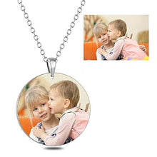 Load image into Gallery viewer, Necklace In Your Own Words...™ Custom Picture Necklace - Memorable Treasures