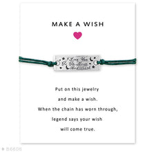 Load image into Gallery viewer, I Love You to the Moon and Back Star Charm Card Bracelets Jewelry - Memorable Treasures