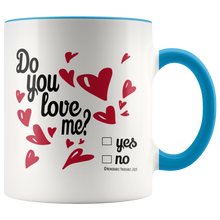 Load image into Gallery viewer, Do You Love Me? Mug - Memorable Treasures Gift of Love for Family and Friends