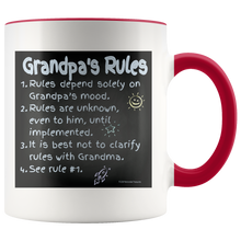Load image into Gallery viewer, Grandpa's Rules - Mug