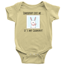 Load image into Gallery viewer, T-shirt Granny Loves Me - Baby One Piece Shirt - Memorable Treasures