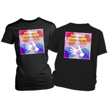 "Load image into Gallery viewer, T-shirt Grandma & Granddaughter, Best Friends For Life - Matching ""Twinsie"" Tee-Shirts Dark - Memorable Treasures"