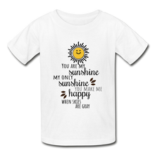 Load image into Gallery viewer, Hanes Youth Tagless T-Shirt | Hanes 5450 You Are My Sunshine - Hanes Youth Tagless T-Shirt - Memorable Treasures